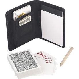 Monogrammed Playing Cards Portfolio