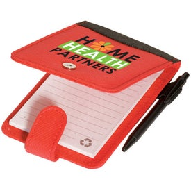 Pocket Enviro-Jotter Imprinted with Your Logo