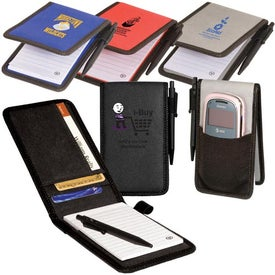 Branded Pocket Jotter/Organizer