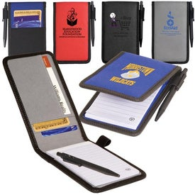 Pocket Jotter/Organizer for Marketing