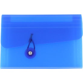 Pocket Sized Organizer Imprinted with Your Logo