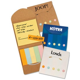Recycled Pocket Sticky Note Caddies
