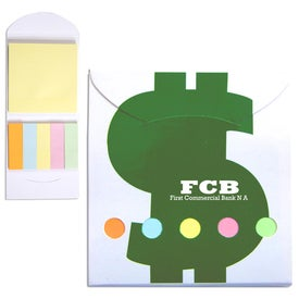 Pocket Sticky Note Memo Book (Financial)