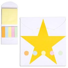 Custom Pocket Sticky Note Memo Book