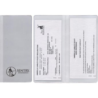 CLICK HERE to Order Policy and Document Holder with Two Clear Full