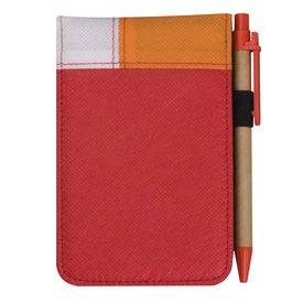 Logo Poly Pro Deco Jotter with Pen