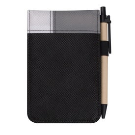 Customized Poly Pro Deco Jotter with Pen