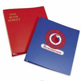 """Poly Ring Binder with Rings (1"""")"""