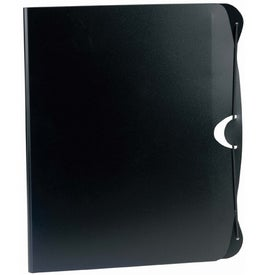 Imprinted PolyPro Padfolio with Business Card and CD Holder