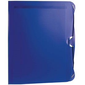 Logo PolyPro Padfolio with Business Card and CD Holder