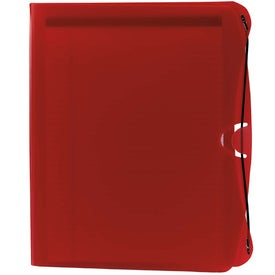 Advertising PolyPro Padfolio with Business Card and CD Holder