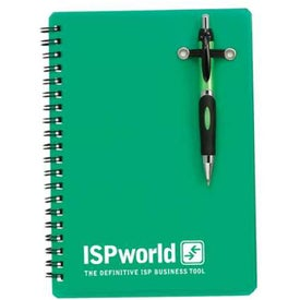Powell Translucent Notebook w/Pen for Your Church