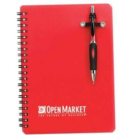 Branded Powell Translucent Notebook w/Pen