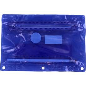 Monogrammed Premium Translucent School Kit
