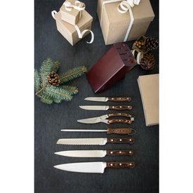 Custom Premium 7 Piece Knife Block