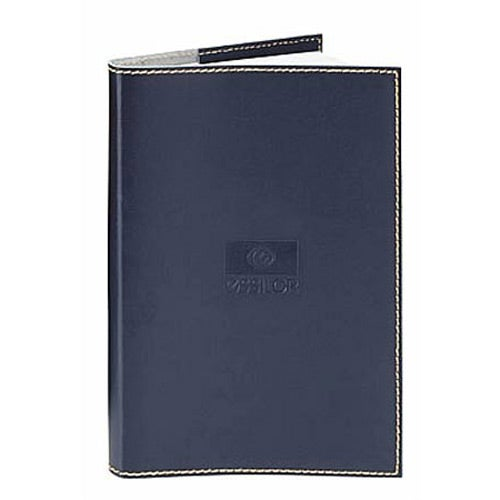 Navy Primetime Leather Journal