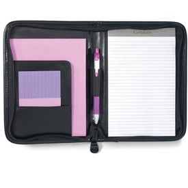 Branded Protege Junior Leather Padfolio