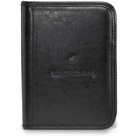 Monogrammed Protege Junior Leather Padfolio