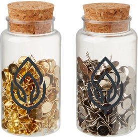 Push Pins in Jar