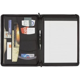 Quest Zippered Padfolio for your School