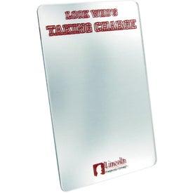 """Company Locker Mirror 4"""" x 6"""" Rectangle"""