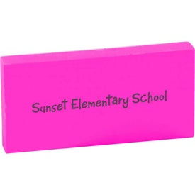 Personalized Rectangular Eraser
