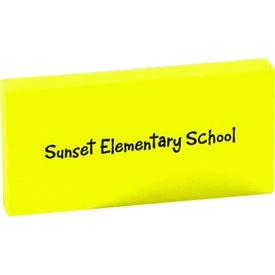 Rectangular Eraser for Advertising