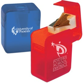Rectangular Pencil Sharpener with Your Logo