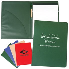 Recycle Padfolio With Pen