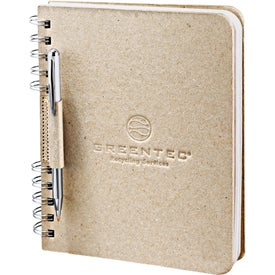 Recycled Cardboard Journal (100 Sheets)