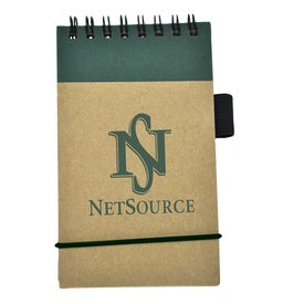 Recycled Economy Jotter for Promotion