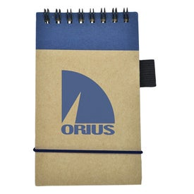Imprinted Recycled Economy Jotter with Pen