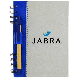 Recycled Journal Book Imprinted with Your Logo