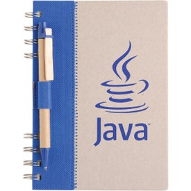 Branded Recycled Terra Notebook