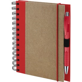 Custom Recycled Color Spine Spiral Notebook