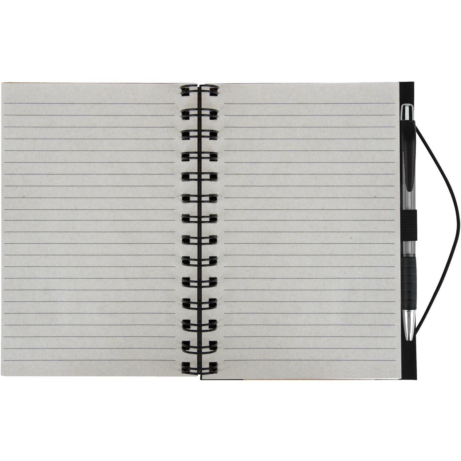 promotional recycled color spine spiral notebooks with custom logo