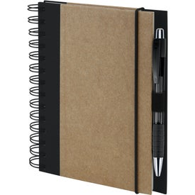 Customized Recycled Color Spine Spiral Notebook