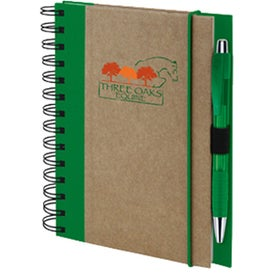 Recycled Color Spine Notebook (80 Sheets)