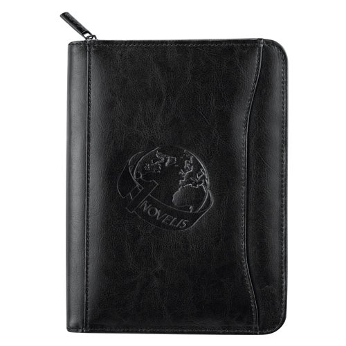 Black Renaissance Jr. Zippered Padfolio