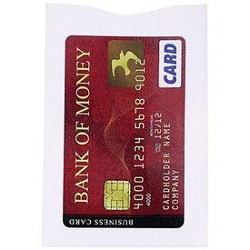 Customized RFID Blocker Credit Card Sleeve
