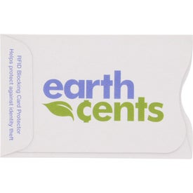 RFID Blocker Credit Card Sleeve Printed with Your Logo