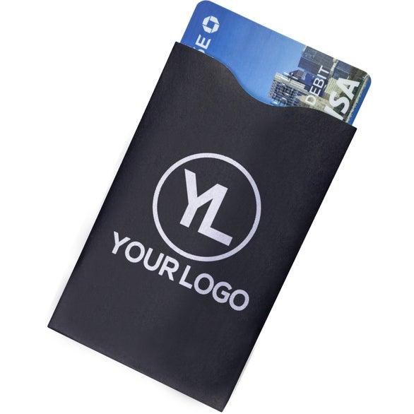 Full Color Imprint Rfid Blocker Credit Card Sleeve