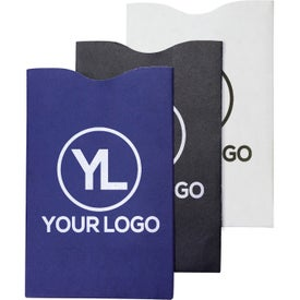 RFID Blocker Credit Card Sleeve for Marketing