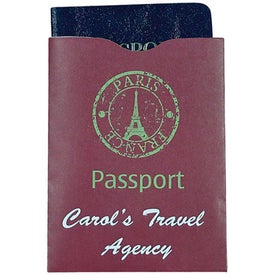 RFID Blocker Passport Sleeve with Your Slogan