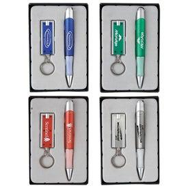 Rivet LED Keylight and Quasar Pen Gift Set