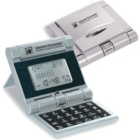Monogrammed Robot Series Evolution Calculator/Clock
