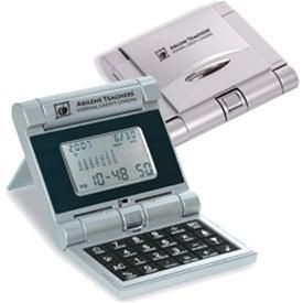 Monogrammed Robot Series Evolution Calculator/Clock