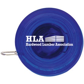 Promotional Round Tape Measure for your School