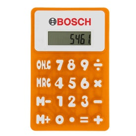 Rubbery Flexible Calculator for Marketing