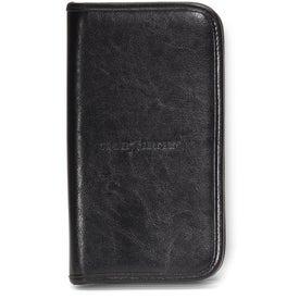 Promotional Safe Travels Leather Document Holder